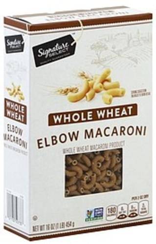 Signature Select Whole Wheat Elbow Macaroni - 16 oz