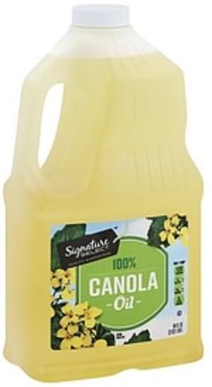 Signature Select 100% Canola Oil - 64 oz