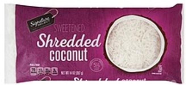 Signature Select Coconut Sweetened, Shredded