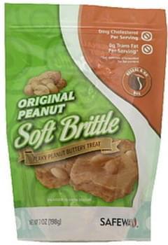 Safeway Soft Brittle Original Peanut