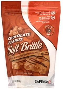 Safeway Soft Brittle Chocolate Peanut