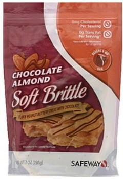 Safeway Soft Brittle Chocolate Almond