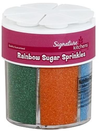 Signature Rainbow Sugar Sprinkles - 3.6 oz