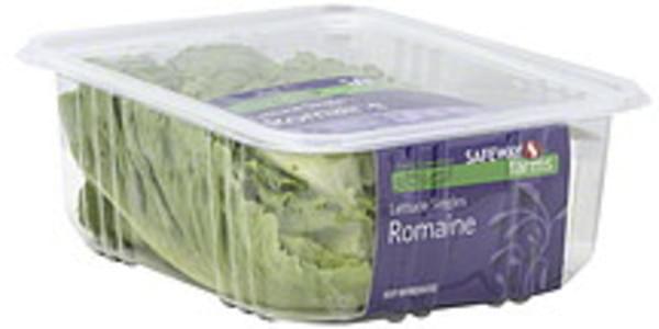 Safeway Farms Lettuce Singles, Romaine