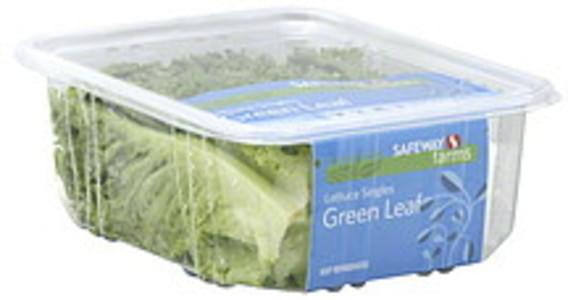 Safeway Farms Lettuce Singles, Green Leaf
