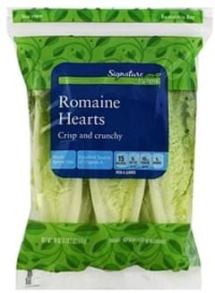 Signature Farms Romaine Hearts Crisp & Crunchy