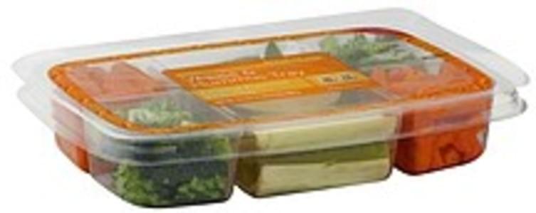 Signature Veggie & Hummus Tray