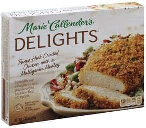Marie Callenders Chicken Panko Herb Crusted, with a Multigrain Medley