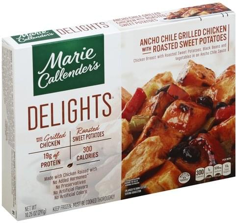 Marie Callenders with Roasted Sweet Potatoes Ancho Chile Grilled Chicken - 10.25 oz