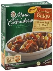 Marie Callenders Pot Roast Braised Beef
