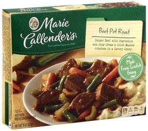 Marie Callenders Pot Roast Beef