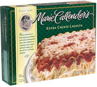 Marie Callender's Extra Cheese Lasagna