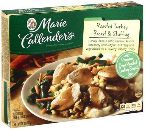 Marie Callenders Roasted Turkey Breast & Stuffing - 14 oz