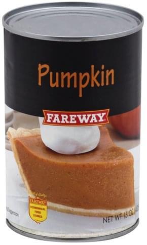Fareway Pumpkin - 15 oz