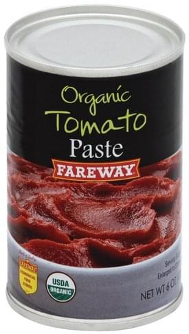 Fareway Paste, Organic Tomatoes - 6 oz
