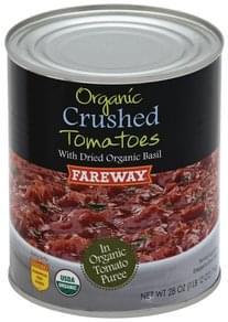 Fareway Tomatoes Crushed, Organic