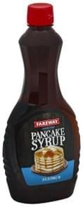 Fareway Pancake Syrup Sugar Free