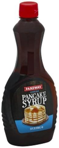 Fareway Sugar Free Pancake Syrup - 24 oz