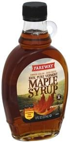 Fareway Maple Syrup 100% Pure Vermont