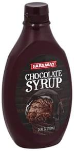 Fareway Chocolate Flavored Syrup