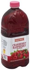 Fareway Juice Cocktail Cranberry Raspberry