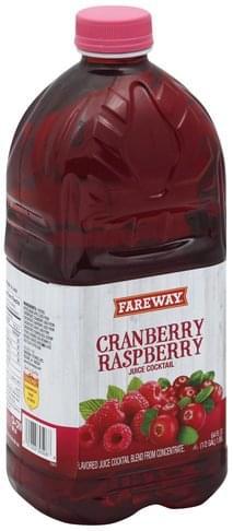 Fareway Cranberry Raspberry Juice Cocktail - 64 oz