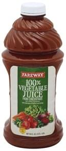 Fareway 100% Vegetable Juice