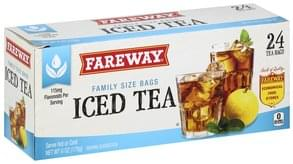 Fareway Iced Tea Family Size Bags