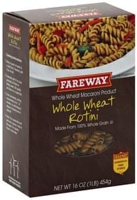 Fareway Rotini Whole Wheat