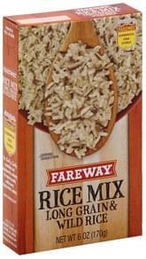 Fareway Rice Mix Long Grain & Wild Rice