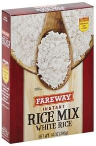 Fareway Rice Mix Instant, White Rice
