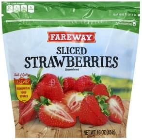 Fareway Strawberries Sliced, Unsweetened