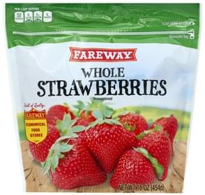 Fareway Strawberries Unsweetened, Whole