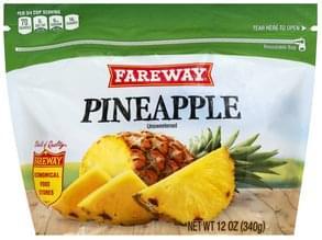 Fareway Pineapple Unsweetened