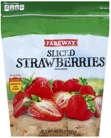 Fareway Unsweetened Blackberries - 48 oz