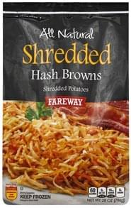 Fareway Hash Browns Shredded