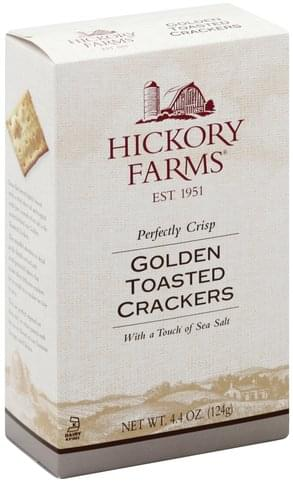 Hickory Farms Golden Toasted Crackers