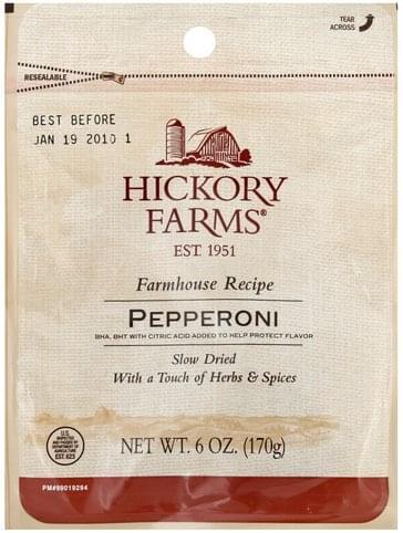 Hickory Farms Pepperoni - 6 oz