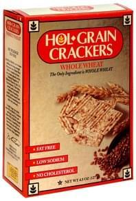 Conrad Rice Mill Hol Grain Crackers Whole Wheat