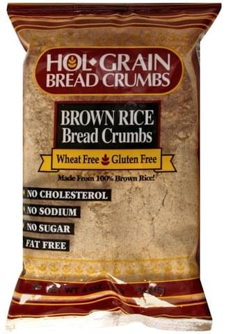 Hol Grain Brown Rice Bread Crumbs - 4 oz