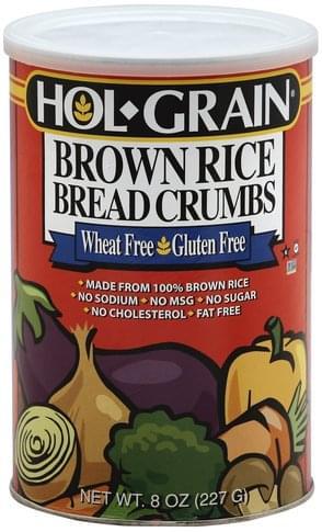 Hol Grain Brown Rice Bread Crumbs - 8 oz