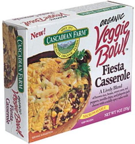 Cascadian Farm Fiesta Casserole Veggie Bowl - 9 oz