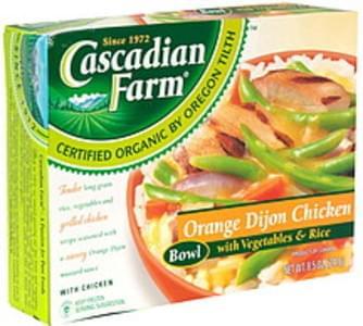 Cascadian Farm Orange Dijon Chicken Bowl with Vegetables & Rice