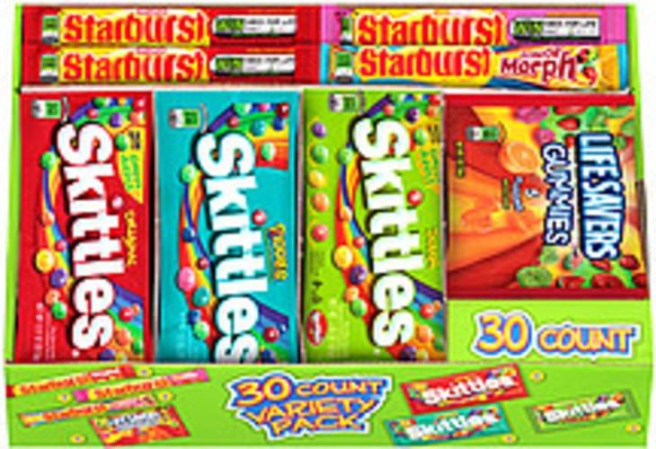 Skittles Variety Pack Skittles/Starburst/Lifesavers Gummies