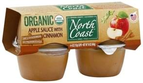 North Coast Apple Sauce with Cinnamon, Organic
