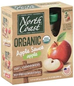 North Coast Apple Sauce Organic, Apple