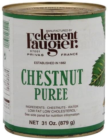 Clement Faugier Chestnut Puree - 31 oz