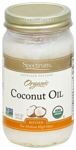 Spectrum Coconut Oil Organic, Refined