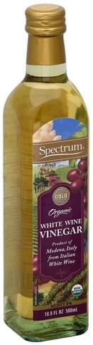 Spectrum Organic, White Wine Vinegar - 16.9 oz