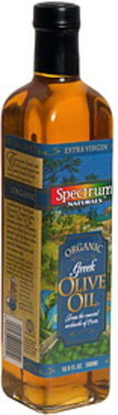 Spectrum Natural Organic Greek Olive Oil Extra Virgin, Cold Pressed